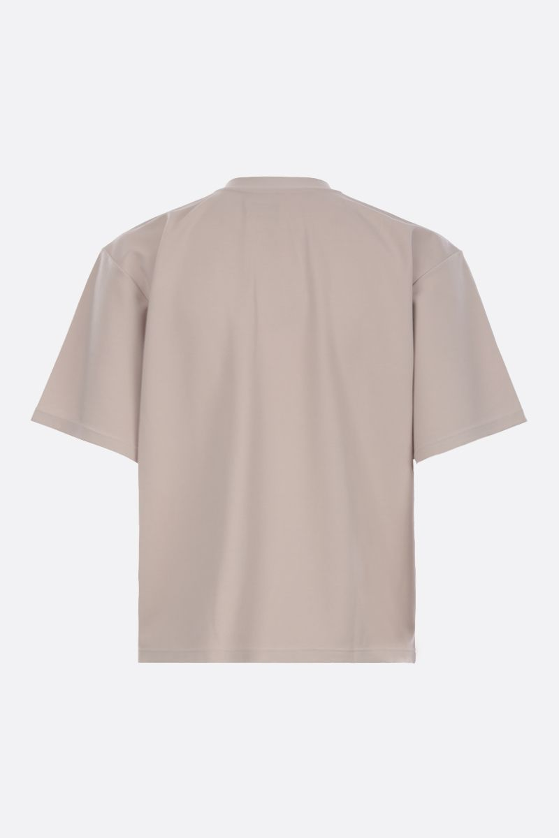 DEVEAUX: jersey oversized t-shirt Color Neutral_2