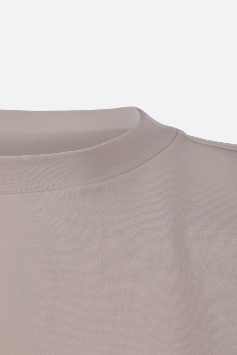 DEVEAUX: jersey oversized t-shirt Color Neutral_4