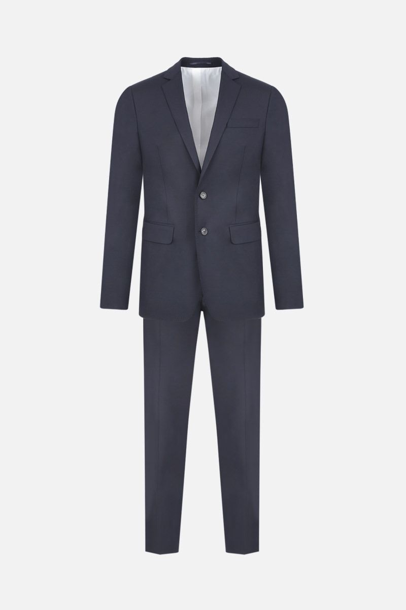 DSQUARED2: two-pieces suit in stretch wool Color Blue_1