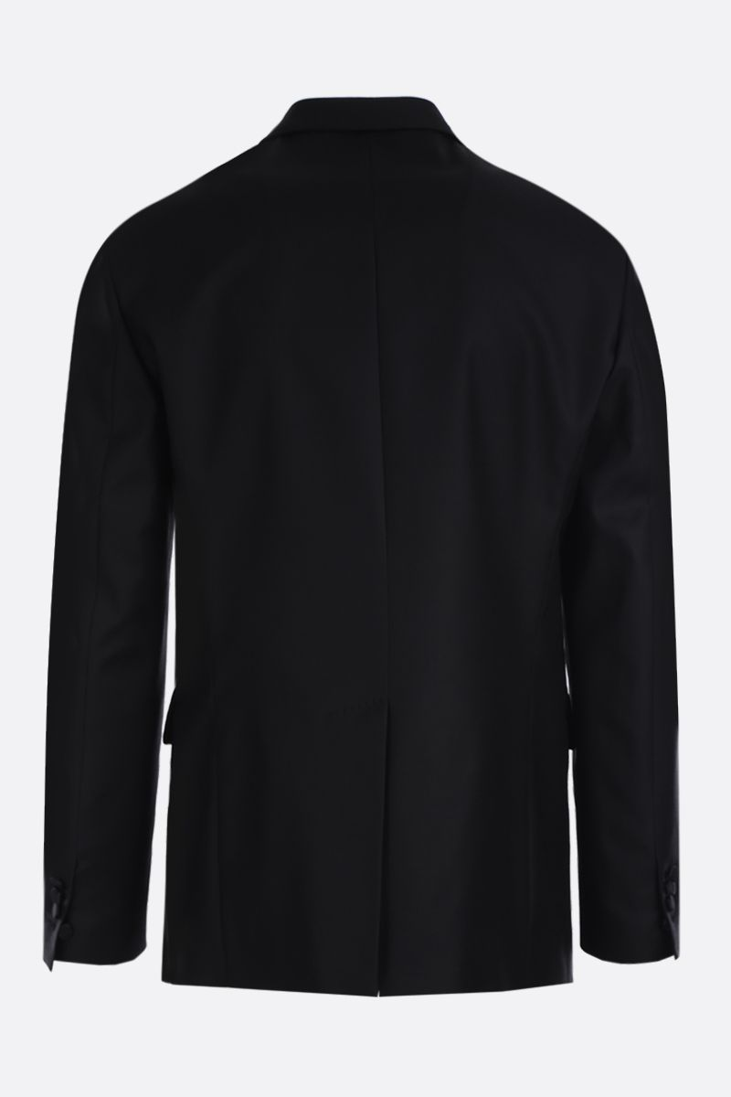 DSQUARED2: wool silk blend texudo jacket Color Black_2