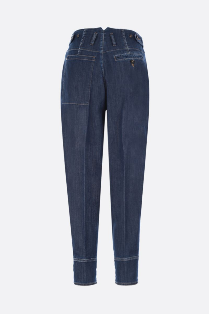 DSQUARED2: jeans carrot-fit Colore Blu_2