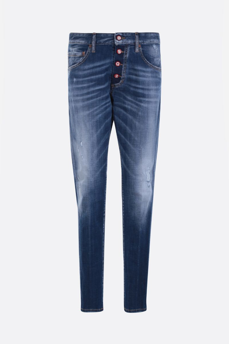 DSQUARED2: jeans Dan skinny-fit Colore Blu_1