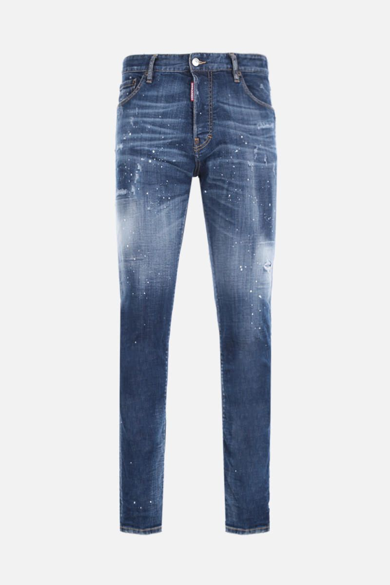 DSQUARED2: Sexy Mercury jeans with distressed effect Color Blue_1