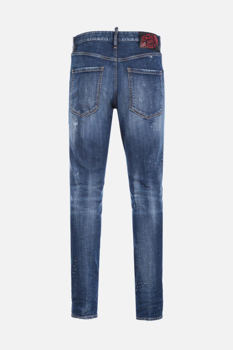DSQUARED2: Sexy Mercury jeans with distressed effect Color Blue_2