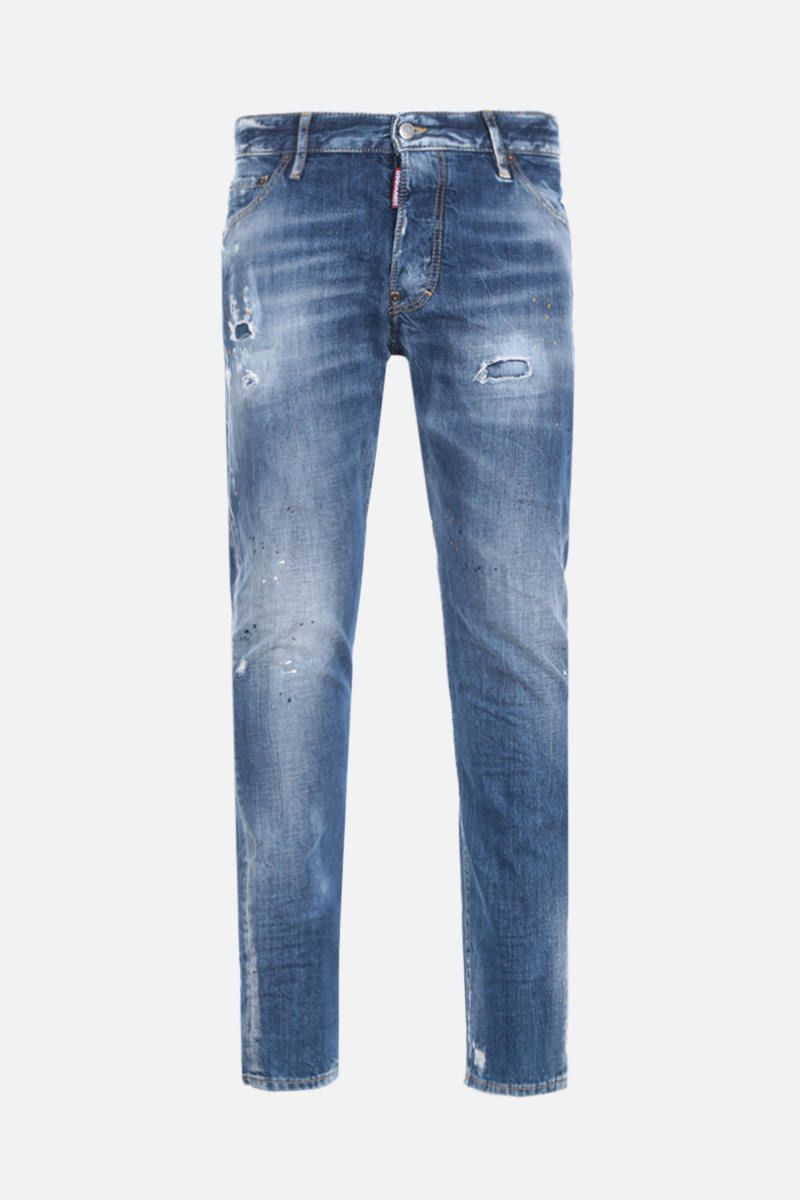 DSQUARED2: Classic Kenny Twist jeans with distressed effect Color Blue_1