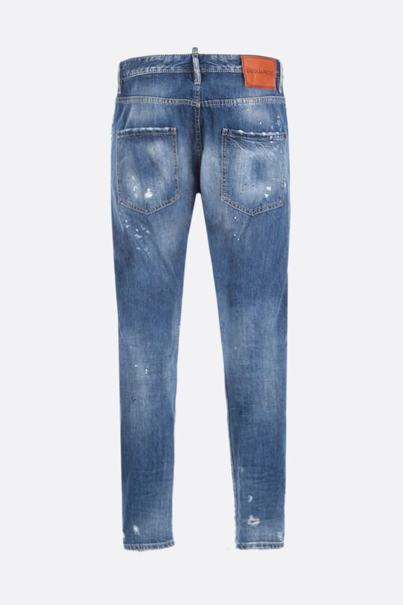 DSQUARED2: Classic Kenny Twist jeans with distressed effect Color Blue_2