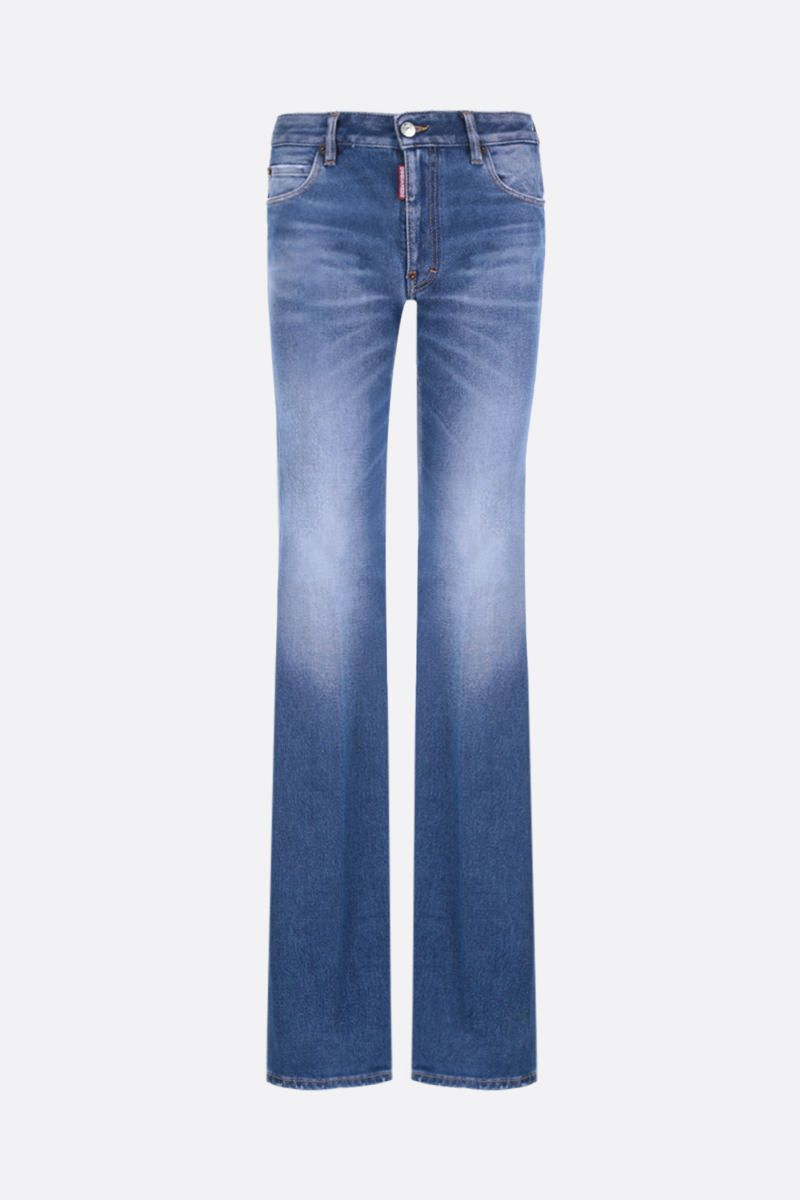 DSQUARED2: Camilla flare jeans Color Blue_1