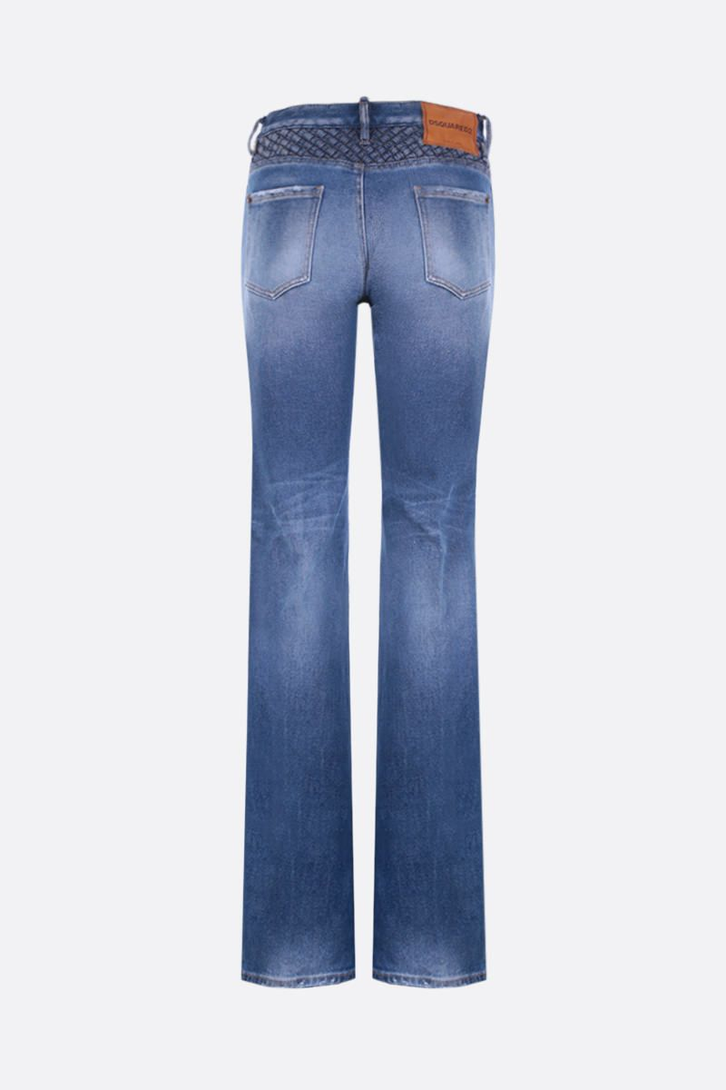 DSQUARED2: Camilla flare jeans Color Blue_2