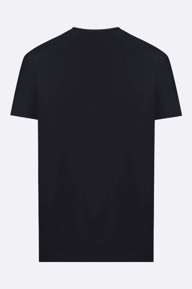 DSQUARED2: Dsquared2 Milano print cotton t-shirt Color Black_2