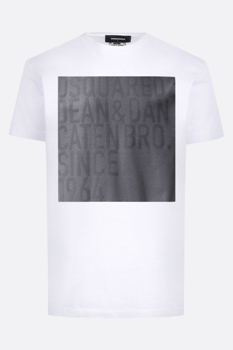 DSQUARED2: t-shirt Faded in cotone Colore Bianco_1