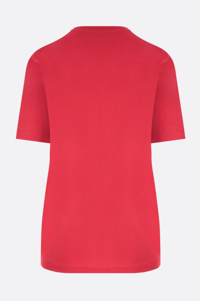 DSQUARED2: Dsquared2 Milano print cotton t-shirt Color Red_2