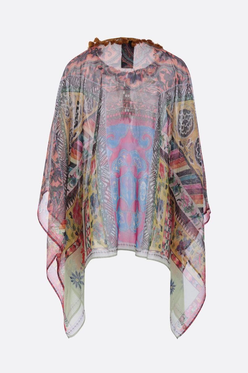 ETRO: patchwork printed silk blouse Color Multicolor_2
