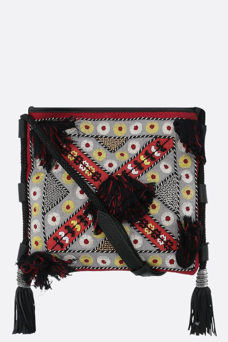 ETRO: Eivissa embroidered-leather crossbody bag_1