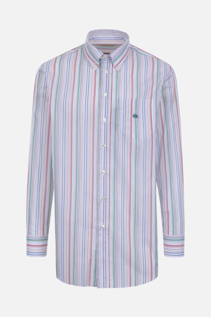 ETRO: striped cotton shirt_1