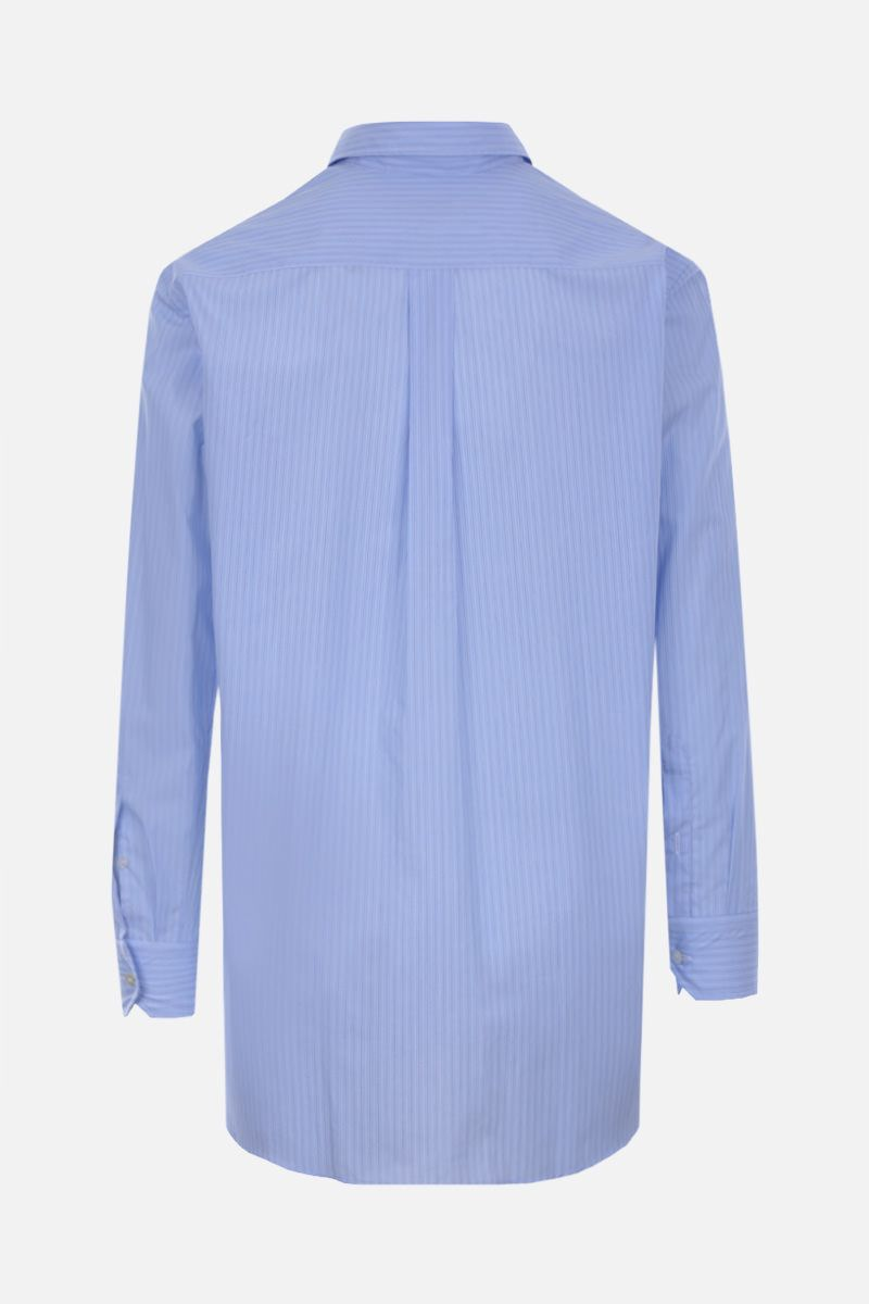 ETRO: striped cotton shirt Color Blue_2