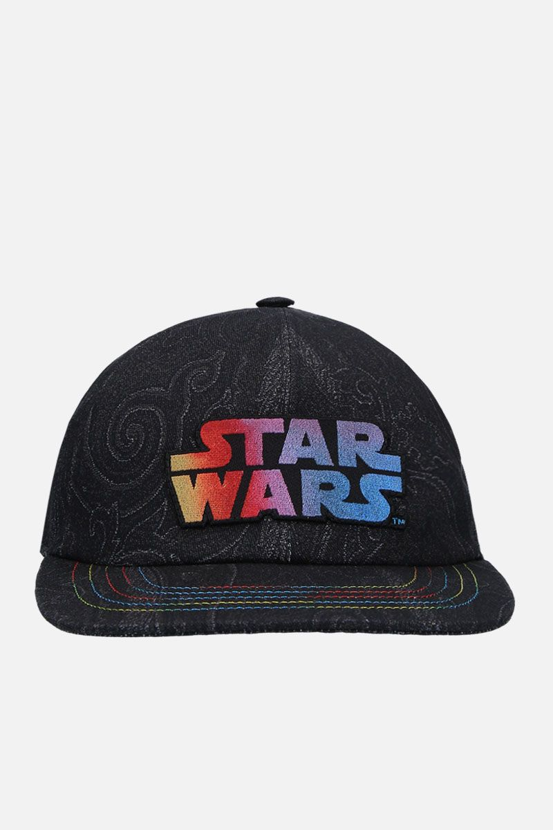 ETRO: ETRO X STAR WARS baseball cap in canvas Color Black_1