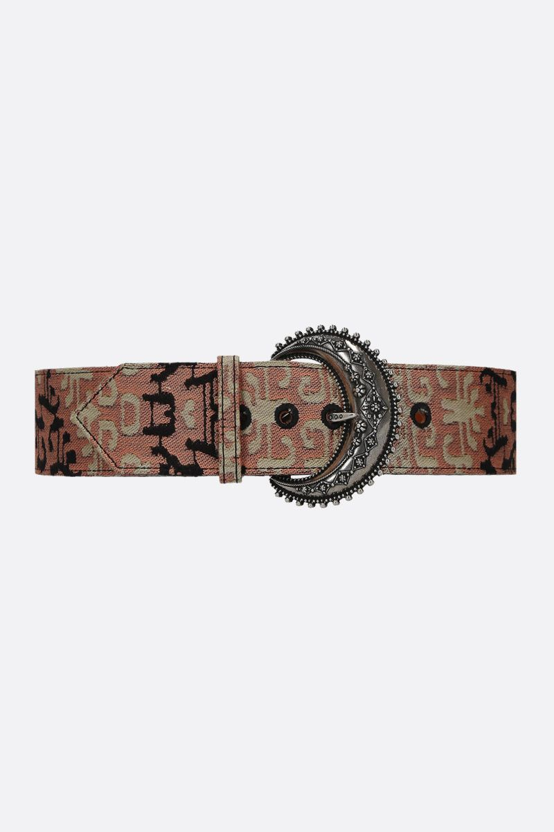 ETRO: jacquard waist belt Color Multicolor_1