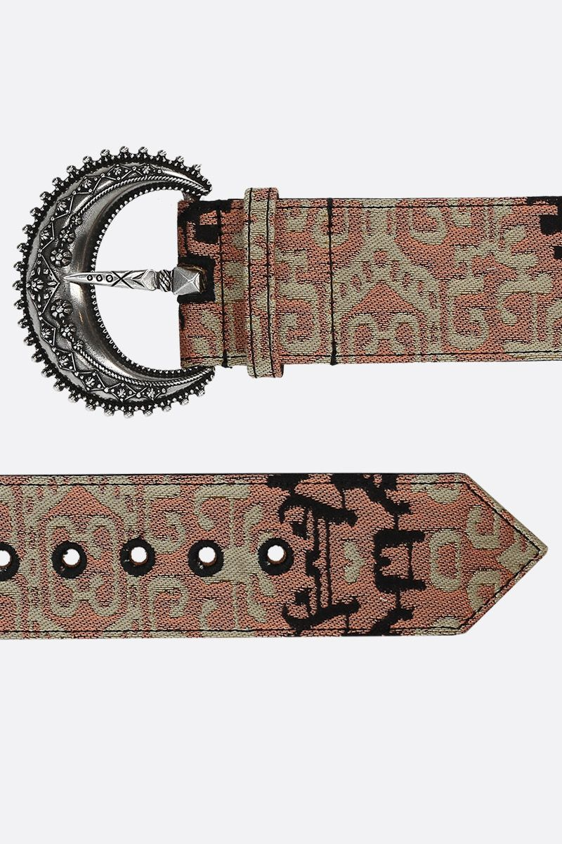 ETRO: jacquard waist belt Color Multicolor_2