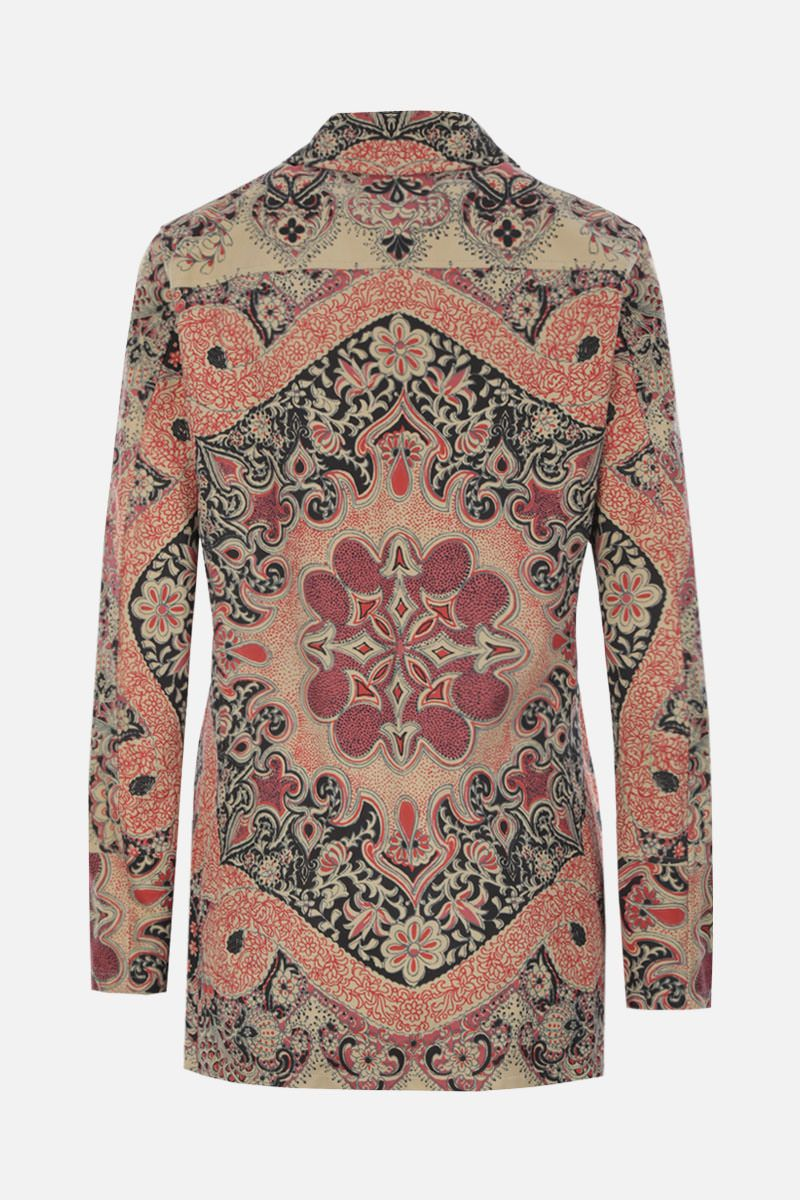 ETRO: printed suede single-breasted jacket_2