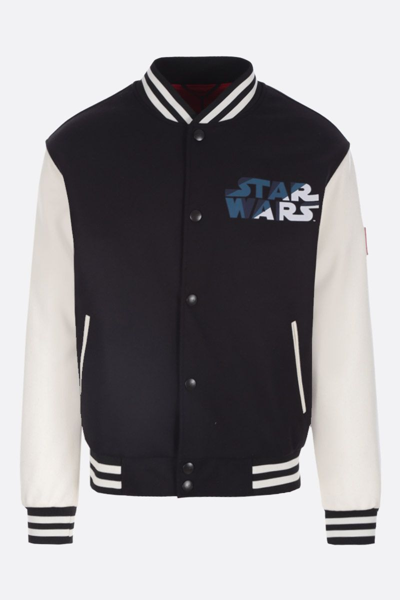 ETRO: ETRO X STAR WARS padded bomber jacket Color Black_1