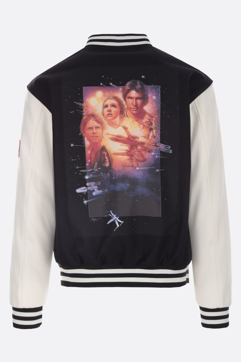 ETRO: ETRO X STAR WARS padded bomber jacket Color Black_2
