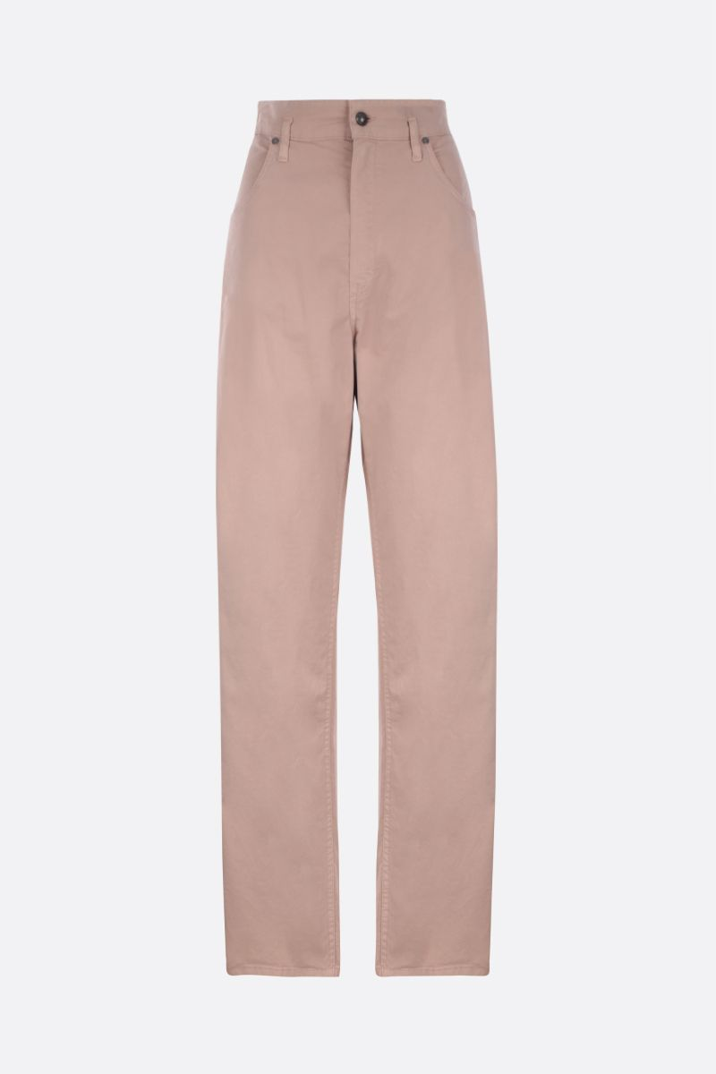 ETRO: stretch cotton wide-leg pants_1