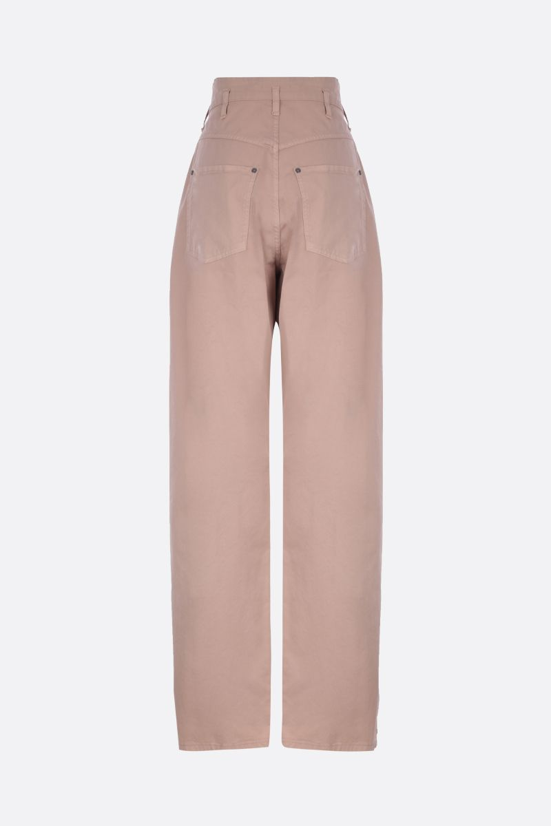 ETRO: stretch cotton wide-leg pants_2
