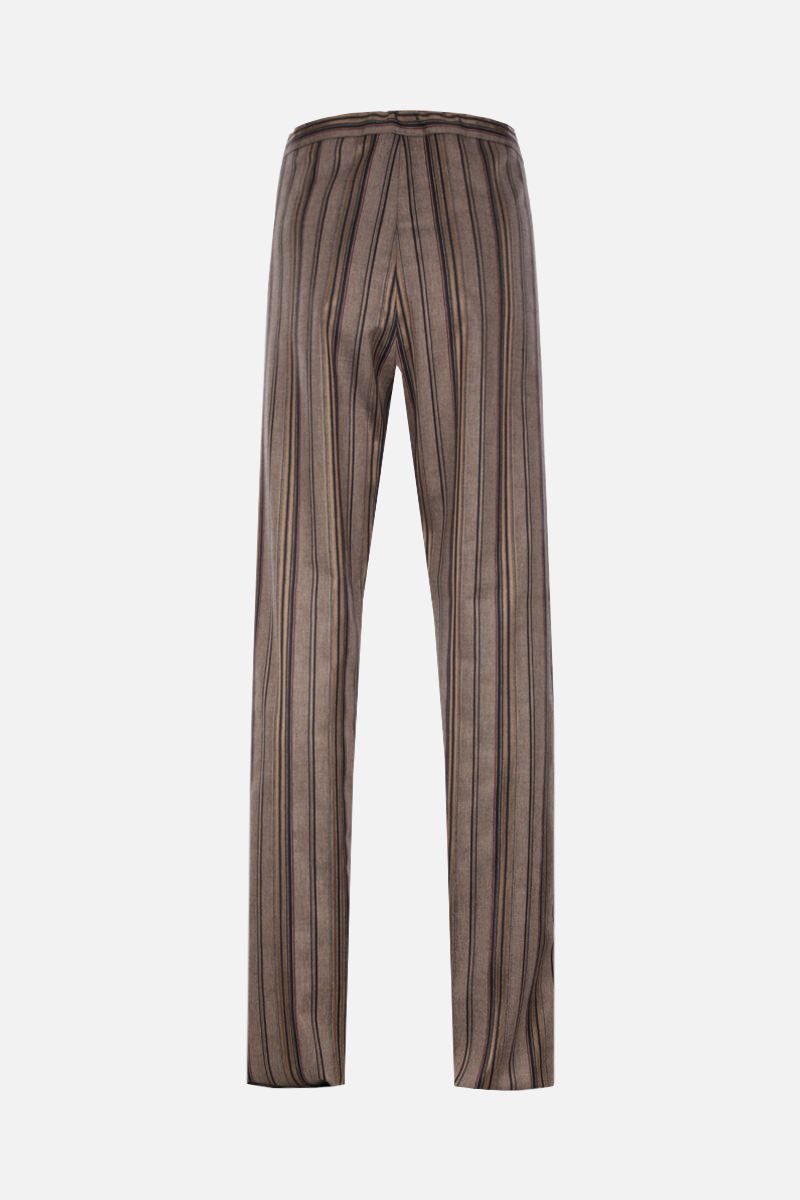 ETRO: striped wool blend joggers_2