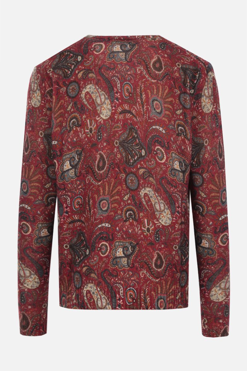 ETRO: Paisley pattern wool pullover Color Multicolor_2