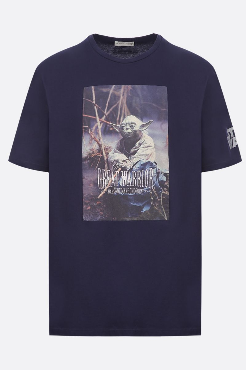ETRO: ETRO X STAR WARS cotton t-shirt Color Blue_1