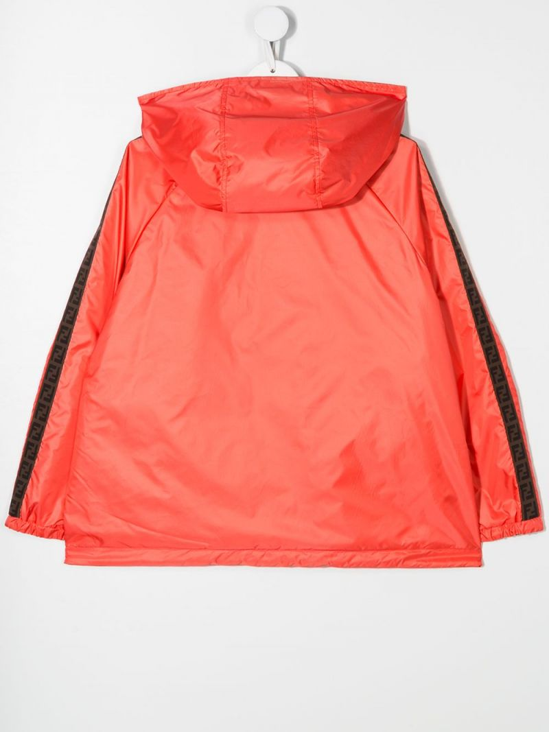FENDI KIDS: nylon reversible windbreaker Color Multicolor_2