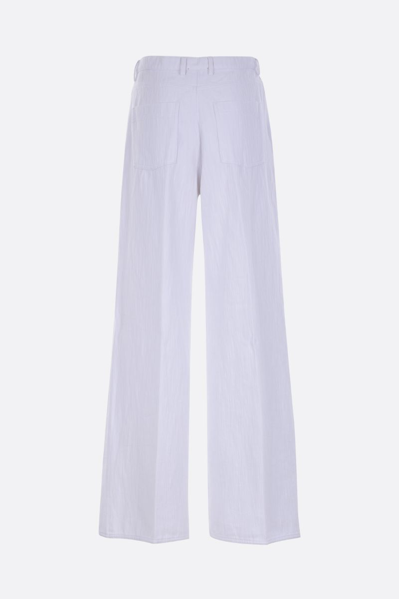 FORTE FORTE: wide-leg jeans Color White_2