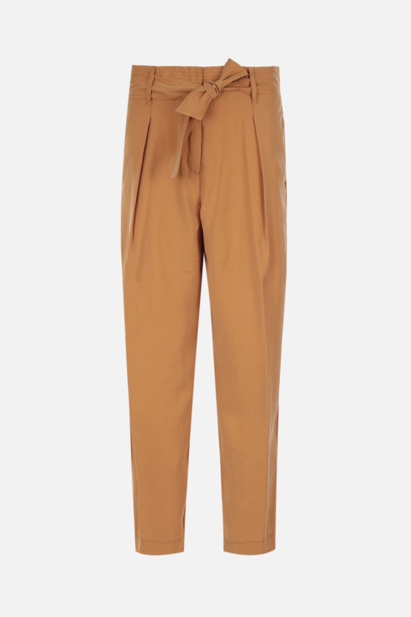 FORTE FORTE: modal blend straight pants Color Neutral_1