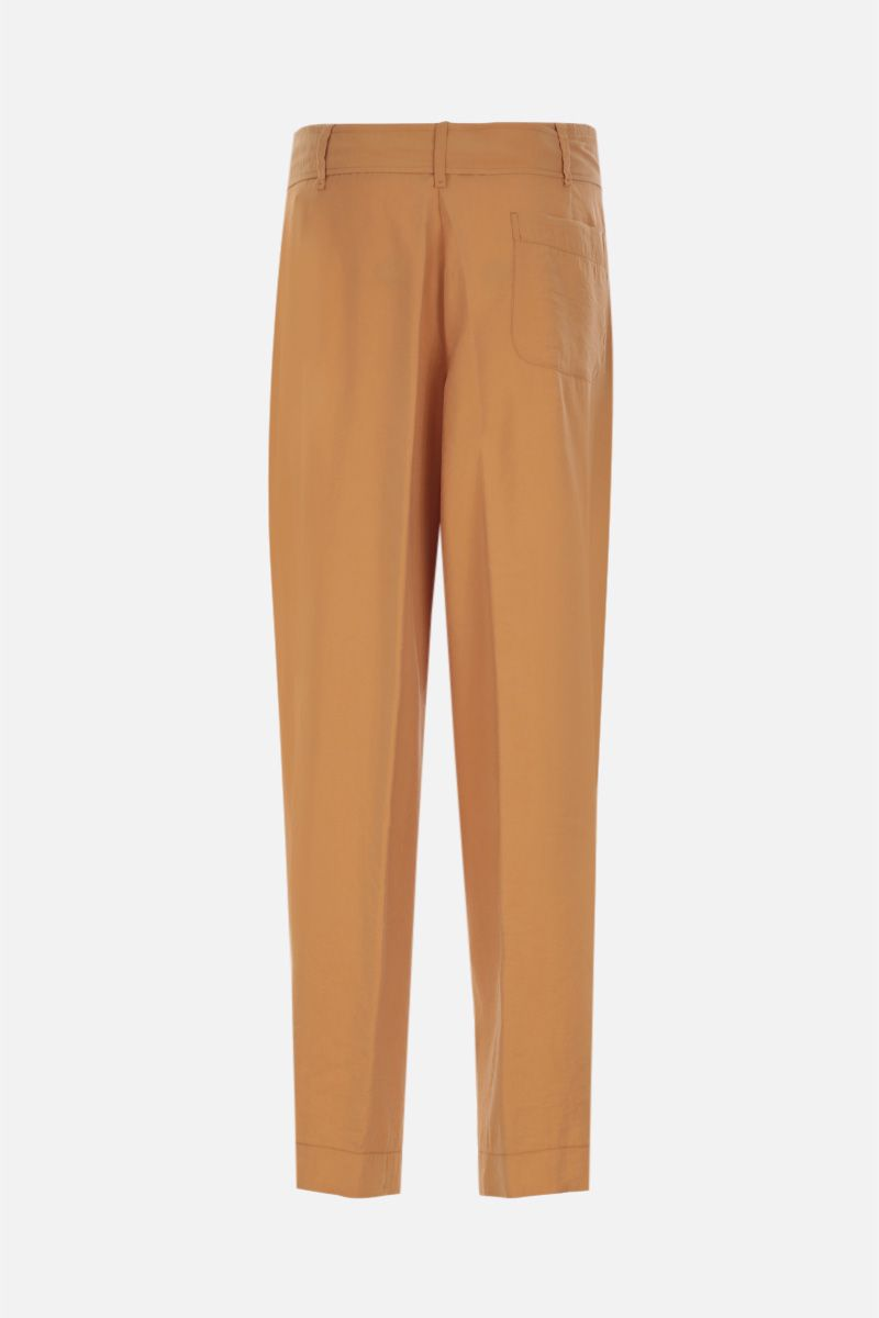 FORTE FORTE: modal blend straight pants Color Neutral_2