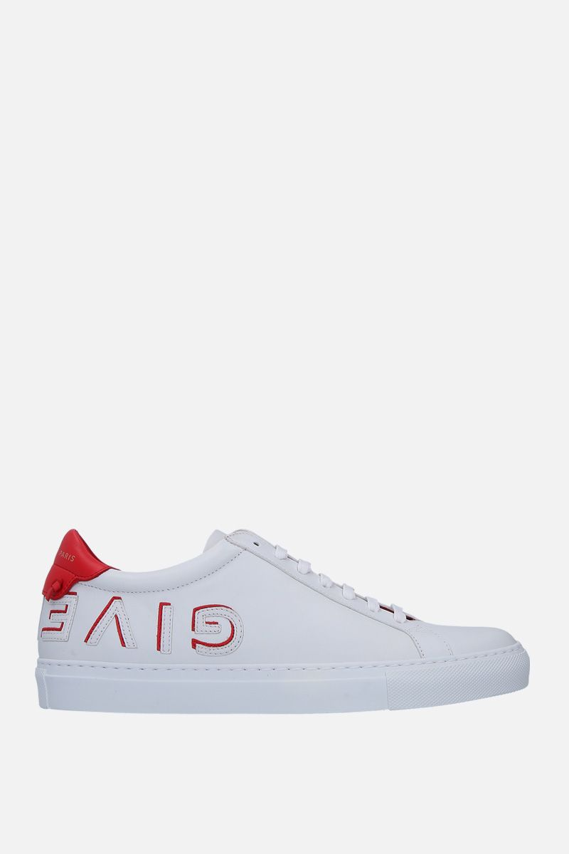 GIVENCHY: Uraban Street sneakers in smooth leather Color White_1