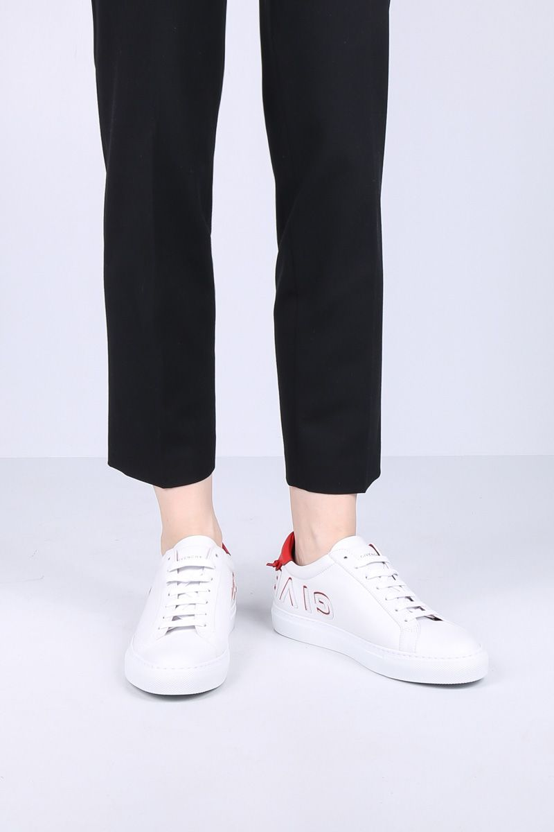 GIVENCHY: Uraban Street sneakers in smooth leather Color White_2