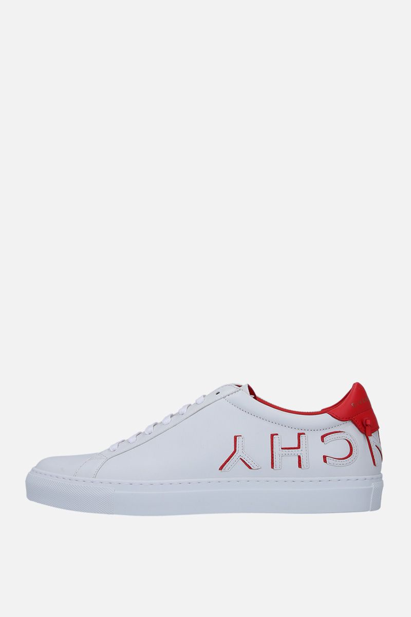 GIVENCHY: Uraban Street sneakers in smooth leather Color White_3