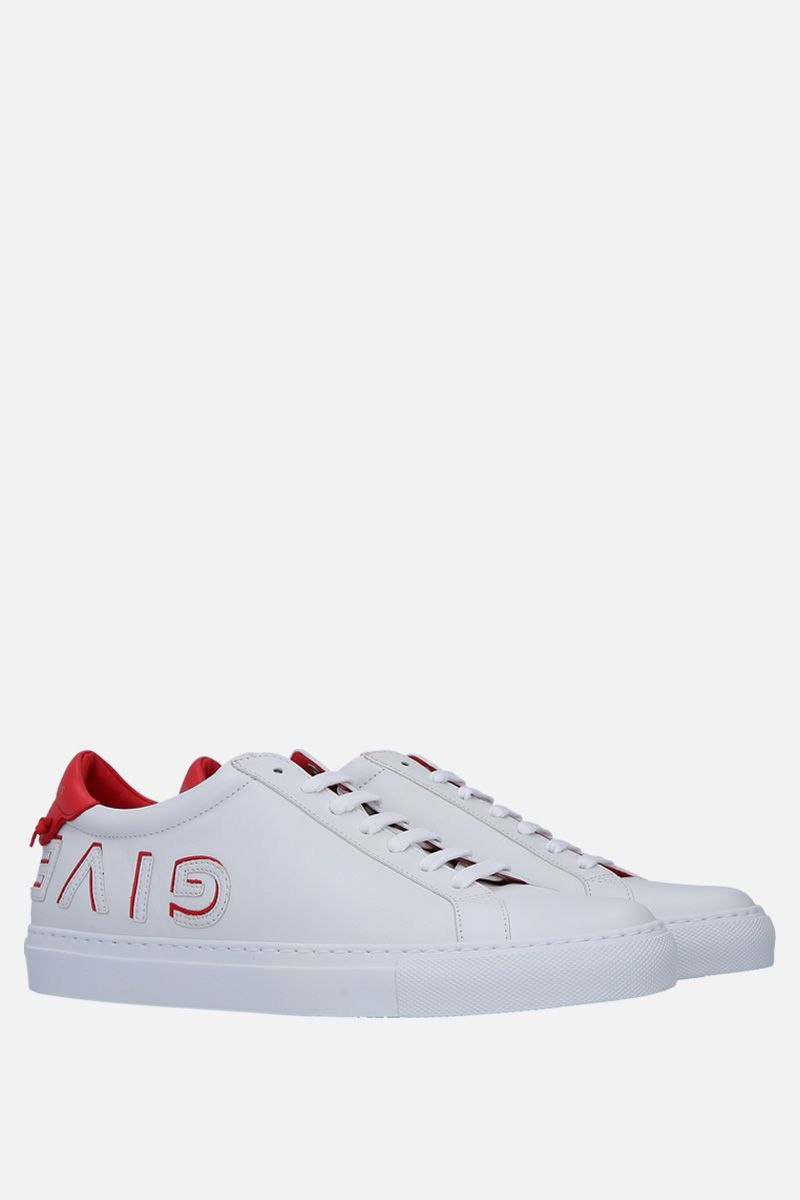 GIVENCHY: Uraban Street sneakers in smooth leather Color White_4