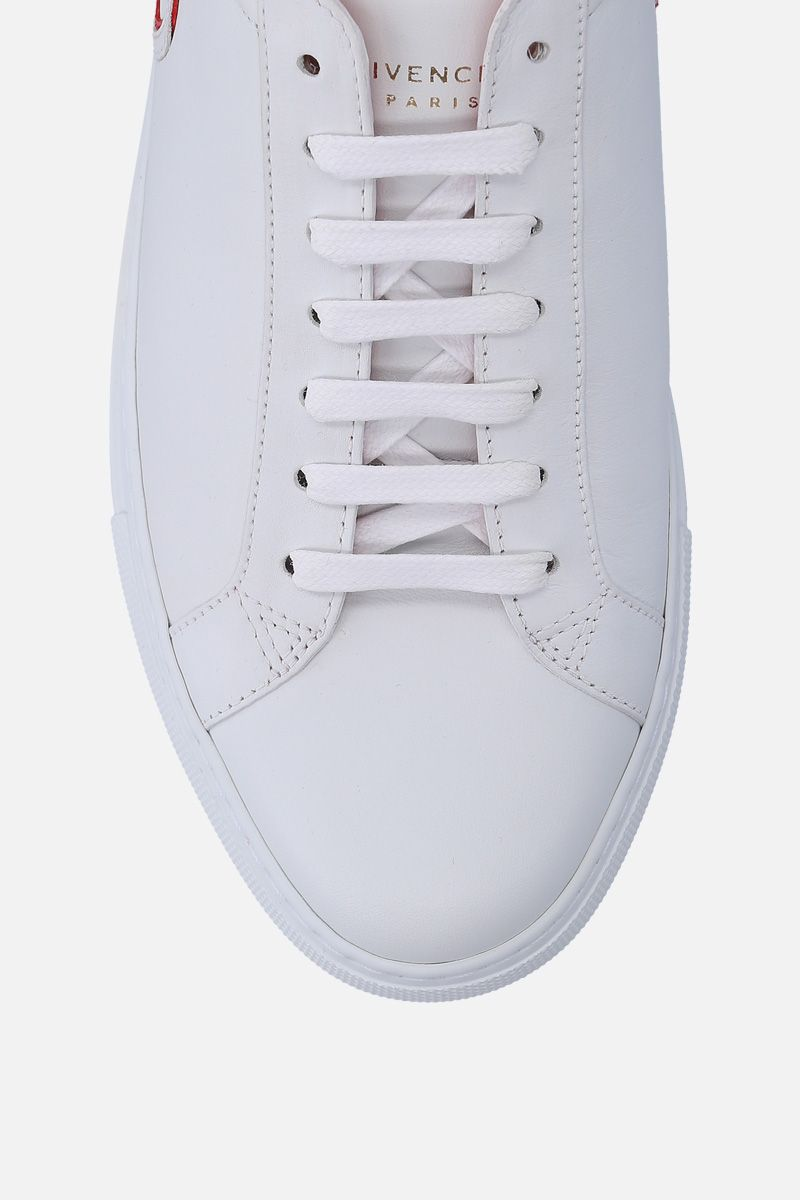 GIVENCHY: Uraban Street sneakers in smooth leather Color White_6
