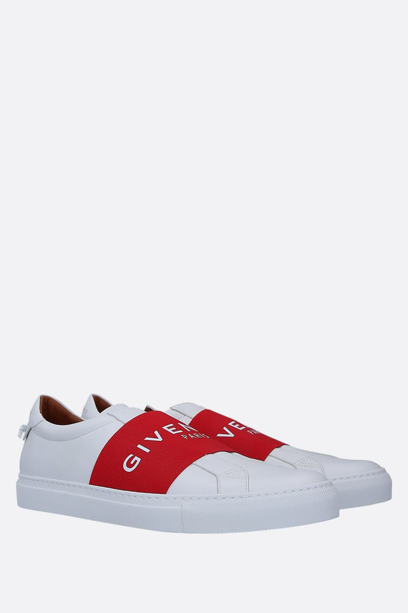GIVENCHY: Urban Street sneakers in smooth leather Color White_2