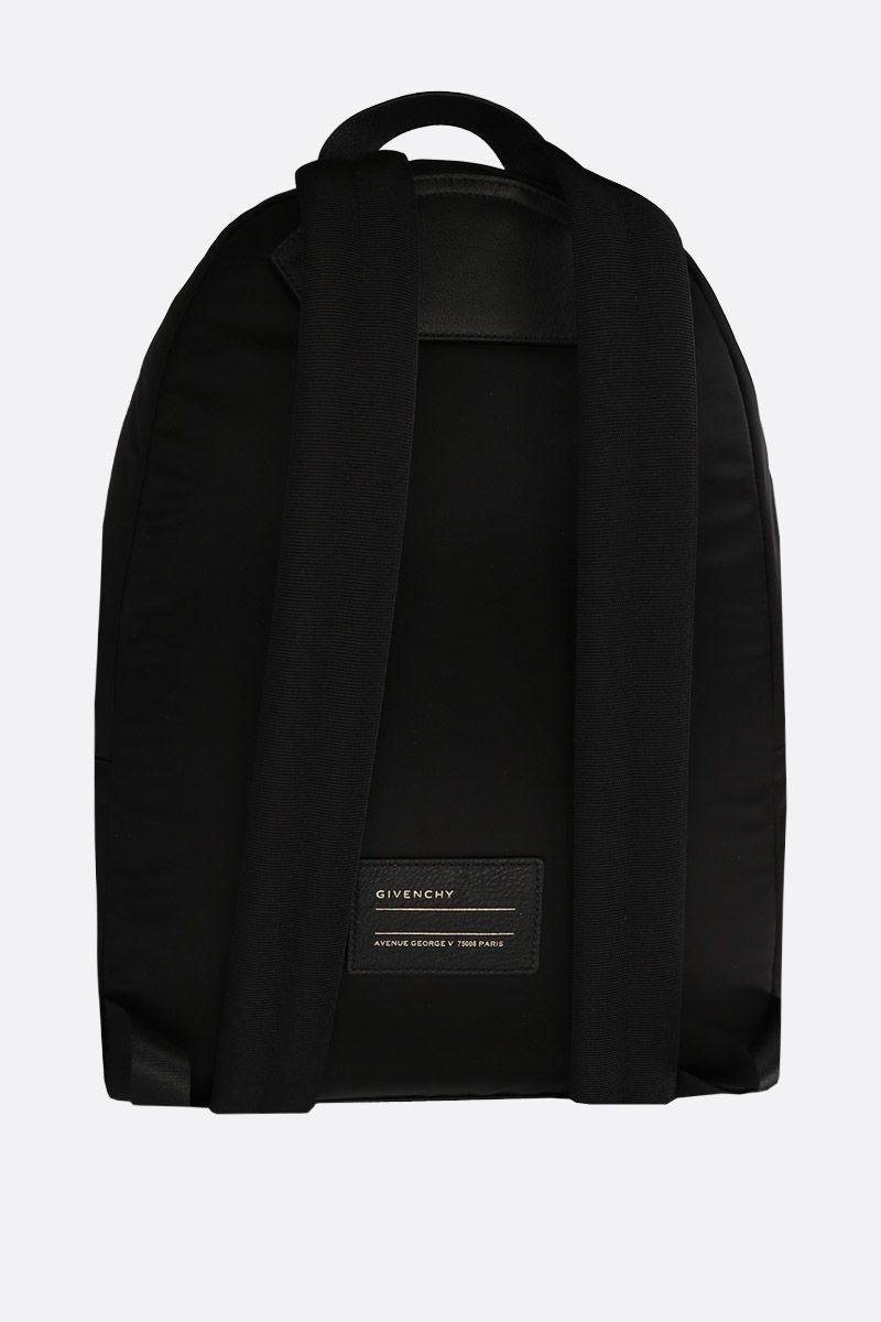 GIVENCHY: Givenchy Paris nylon backpack Color Black_3