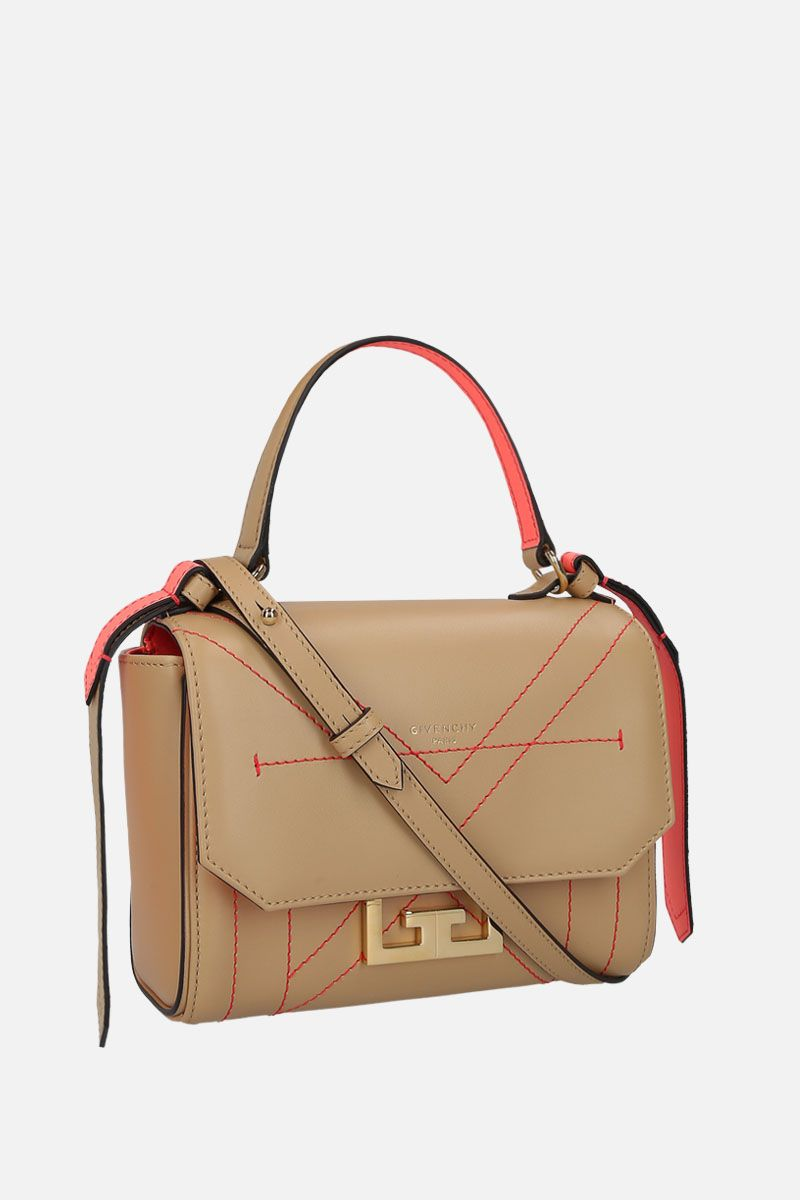 GIVENCHY: Eden mini shoulder bag in smooth leather Color Neutral_2