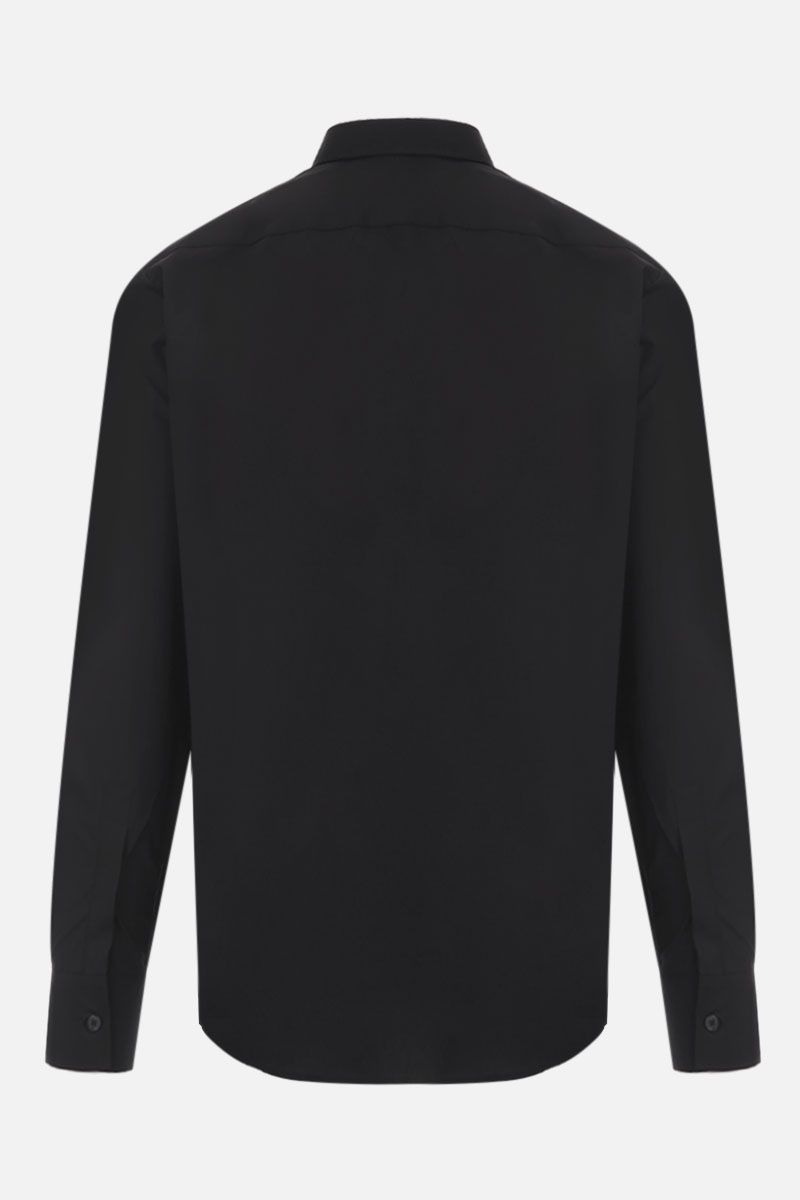 GIVENCHY: Givenchy Adresse cotton shirt Color Black_2