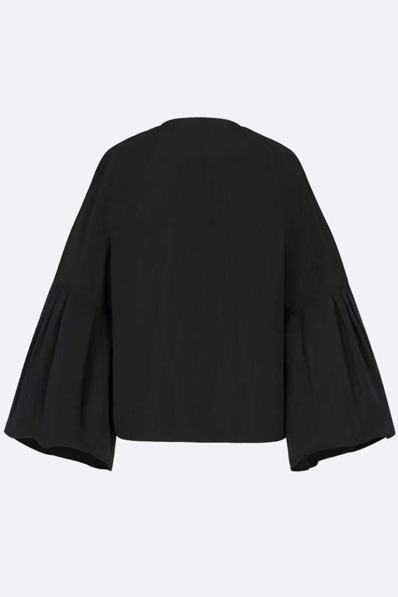 GIVENCHY: giacca full-zip in taffetà Colore Nero_2