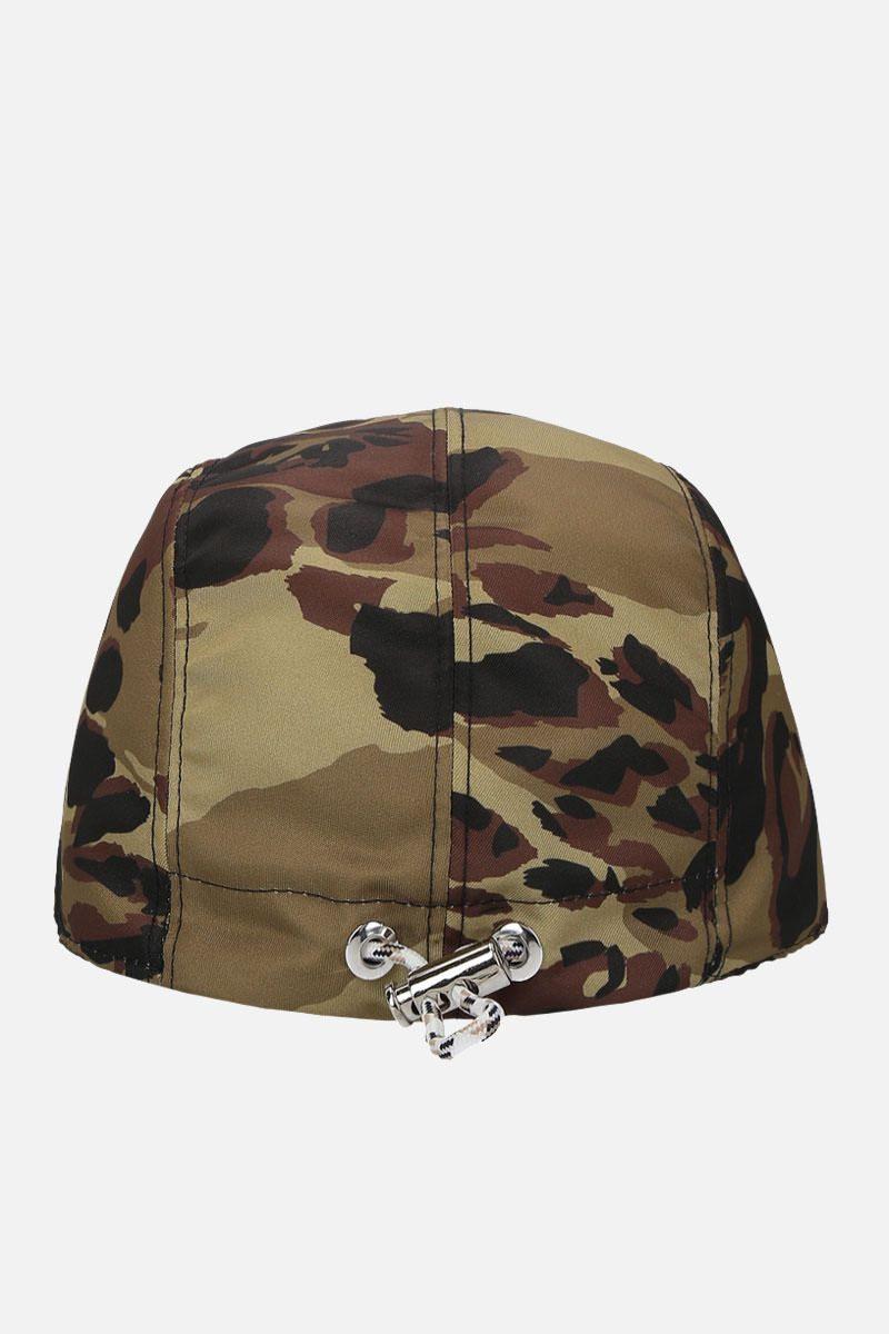 GIVENCHY: cappellino Givenchy Paris in nylon camouflage Colore Multicolore_3