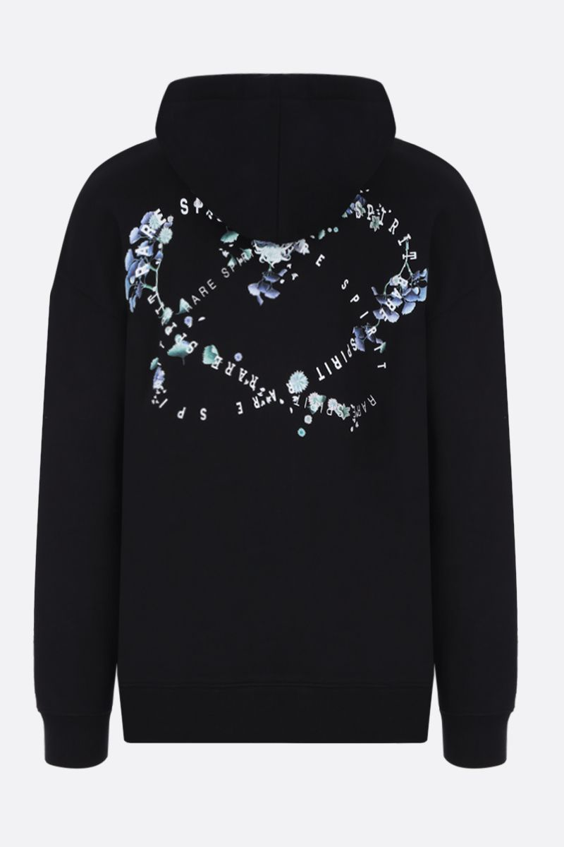 GIVENCHY: Studio Homme Givenchy print cotton hoodie Color Black_2