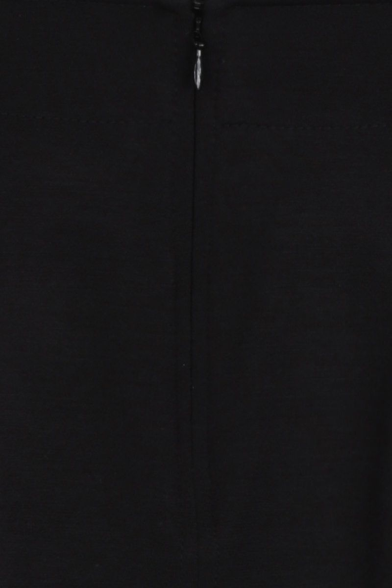 GIVENCHY: wool blend miniskirt with 4G buttons Color Black_4