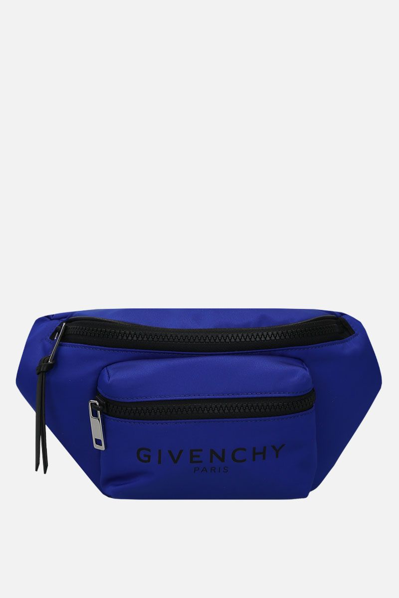 GIVENCHY: Light 3 nylon belt bag Color Blue_1