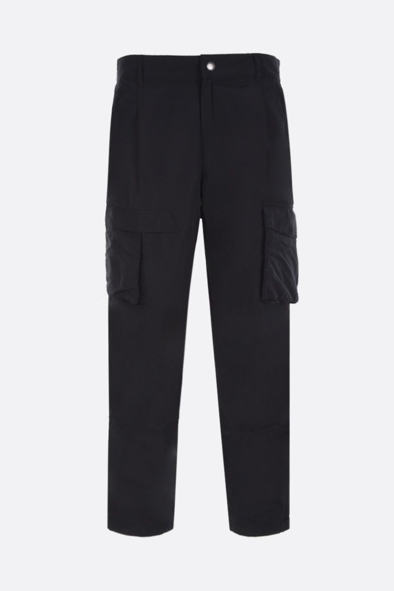 GIVENCHY: technical cotton cargo pants Color Black_1