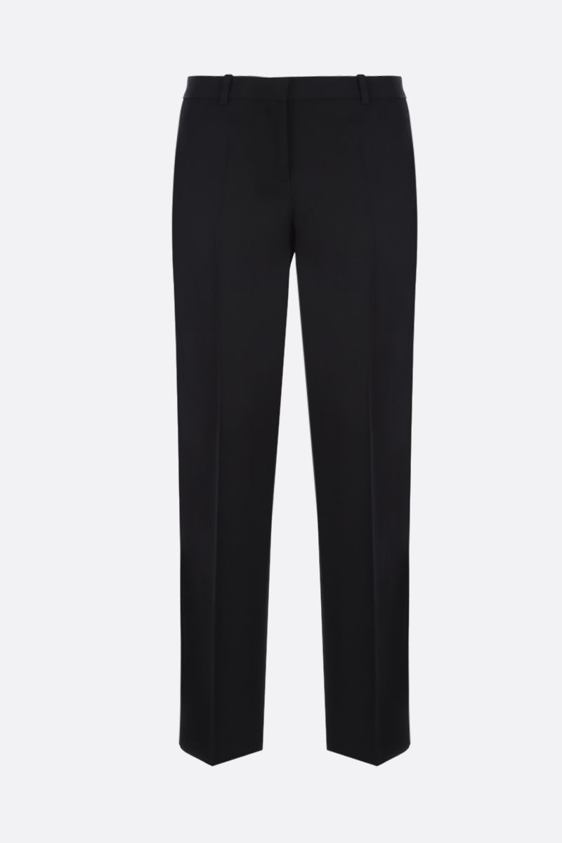 GIVENCHY: wool slim-fit pants Color Black_1